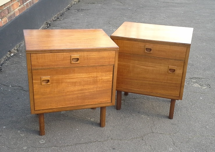 Alfred Cox Heals bedside cabinets