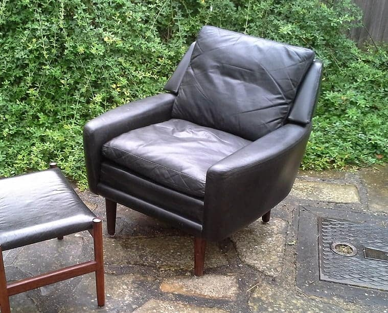 Hero Mobler leather armchair