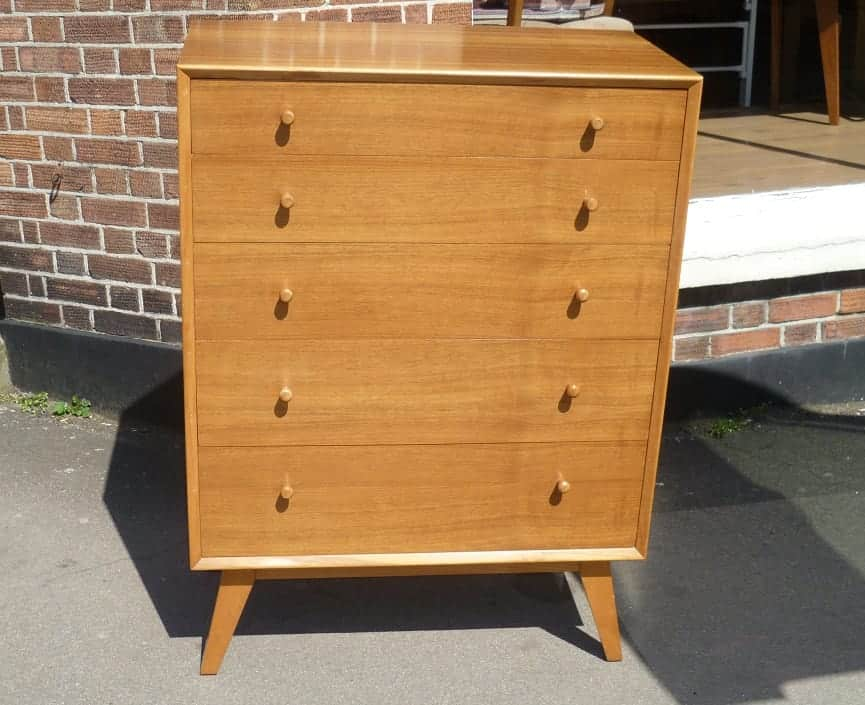 Alfred Cox chest of drawers