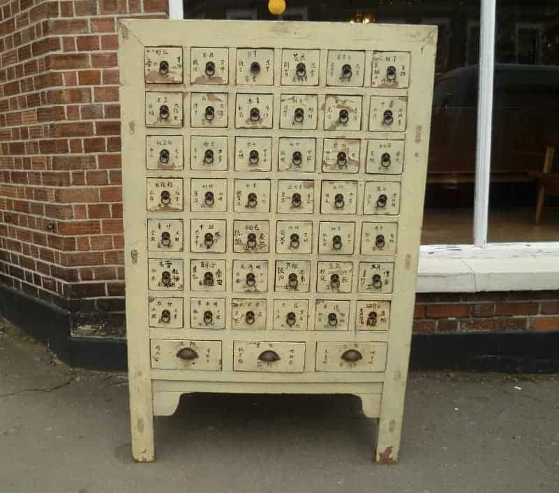 Chinese apothecary drawers