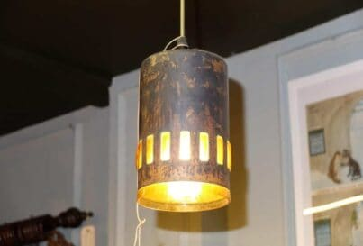Copper pendant light by Nanny Still for Raak