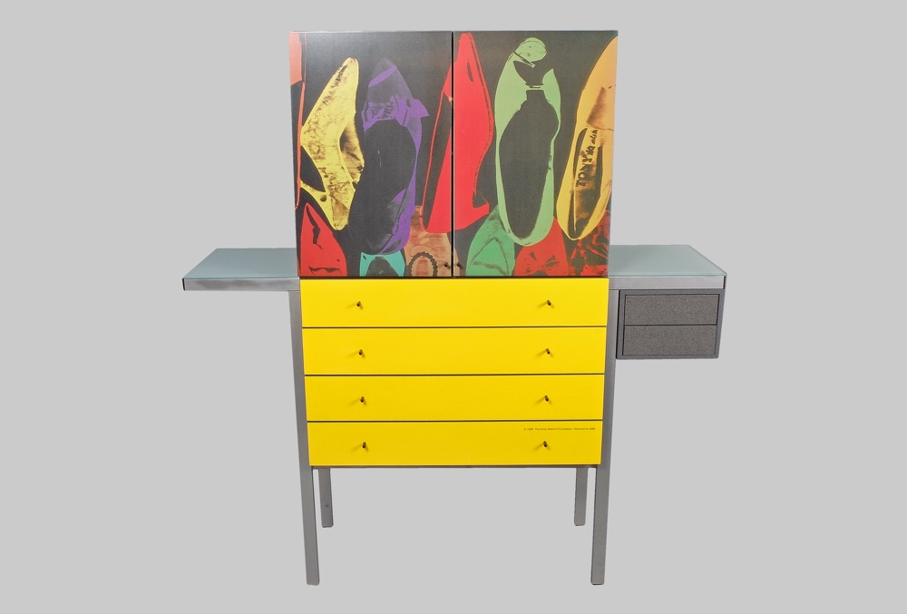 Andy Warhol Shoes Pop Art cabinet art design hb collection  sc 1 st  Gonnermann & Andy Warhol Shoes Pop Art cabinet - Gonnermann
