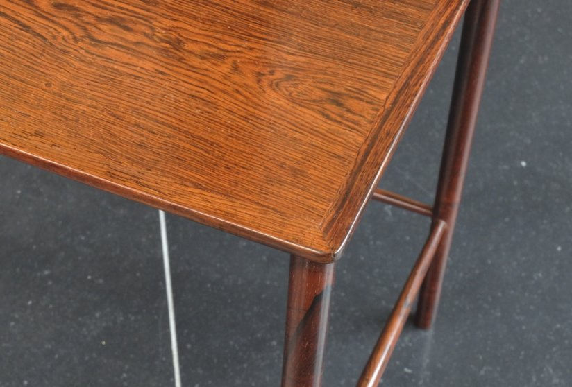 Kai Winding rosewood nest of tables by Poul Jeppesen