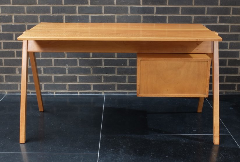 1950s Robin Day Hille Desk and Hillestak Chair