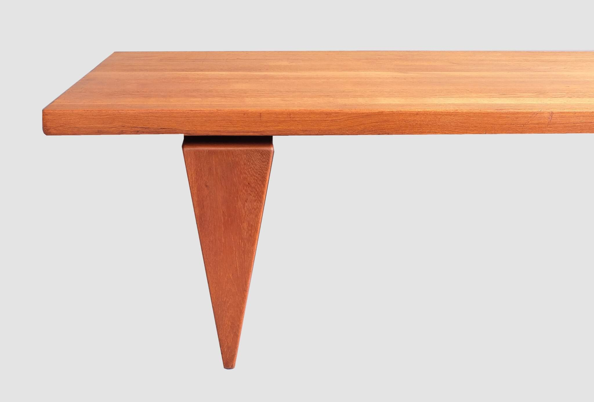 Illum wikkelso teak coffee table gonnermann Tables for coffee shop