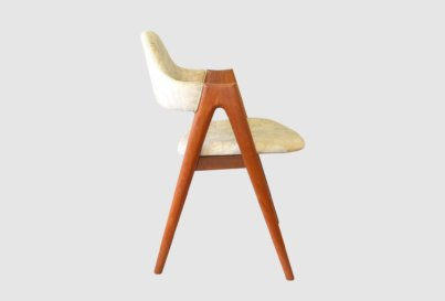 Teak Compass chair by Kai Kristiansen Danish Modern 1960's
