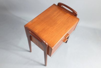 Johannes Andersen pair of rosewood bedside tables or night stands, Denmark 1960's