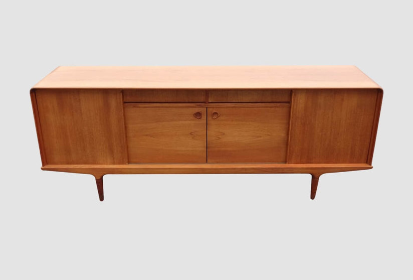 Clausen and Son teak sideboard Denmark 1960's