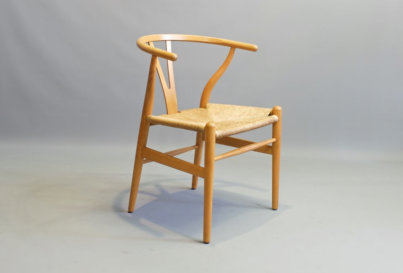 Hans J Wegner Wishbone chairs Model CH24 produced by Carl Hansen and Son 1960's