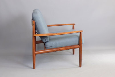 Grete Jalk Rosewood armchair Model 188 France and Son Denmark 1960's