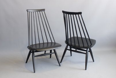 Ilmari Tapiovaara Mademoiselle Chairs, produced by Edsby, Sweden 1960.