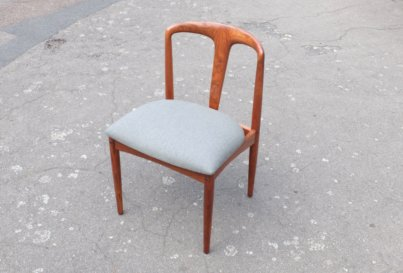 6 Rosewood Johannes Andersen Rosewood Julianne dining chairs