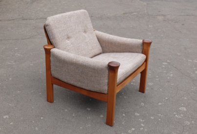 Arne Vodder teak armchair for Cado 1970