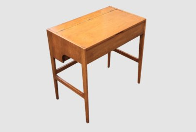 Walnut dressing table desk
