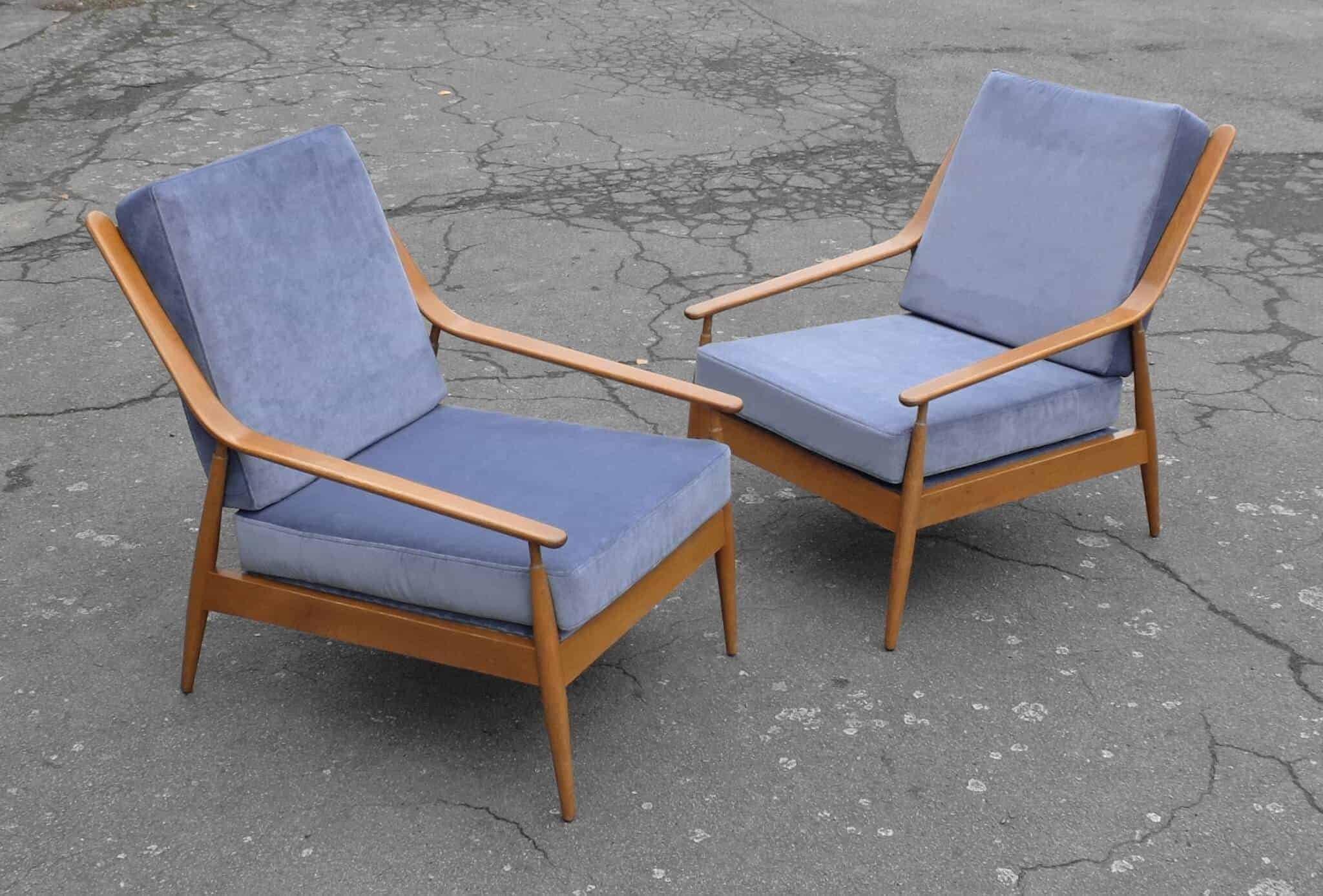 Scandart 1960's sofa and armachairs