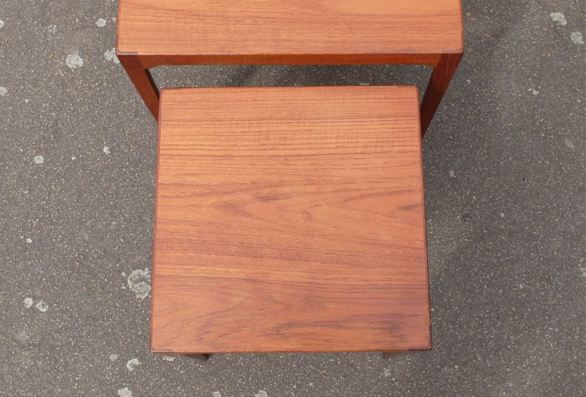 BR Gelsted teak nest of tables