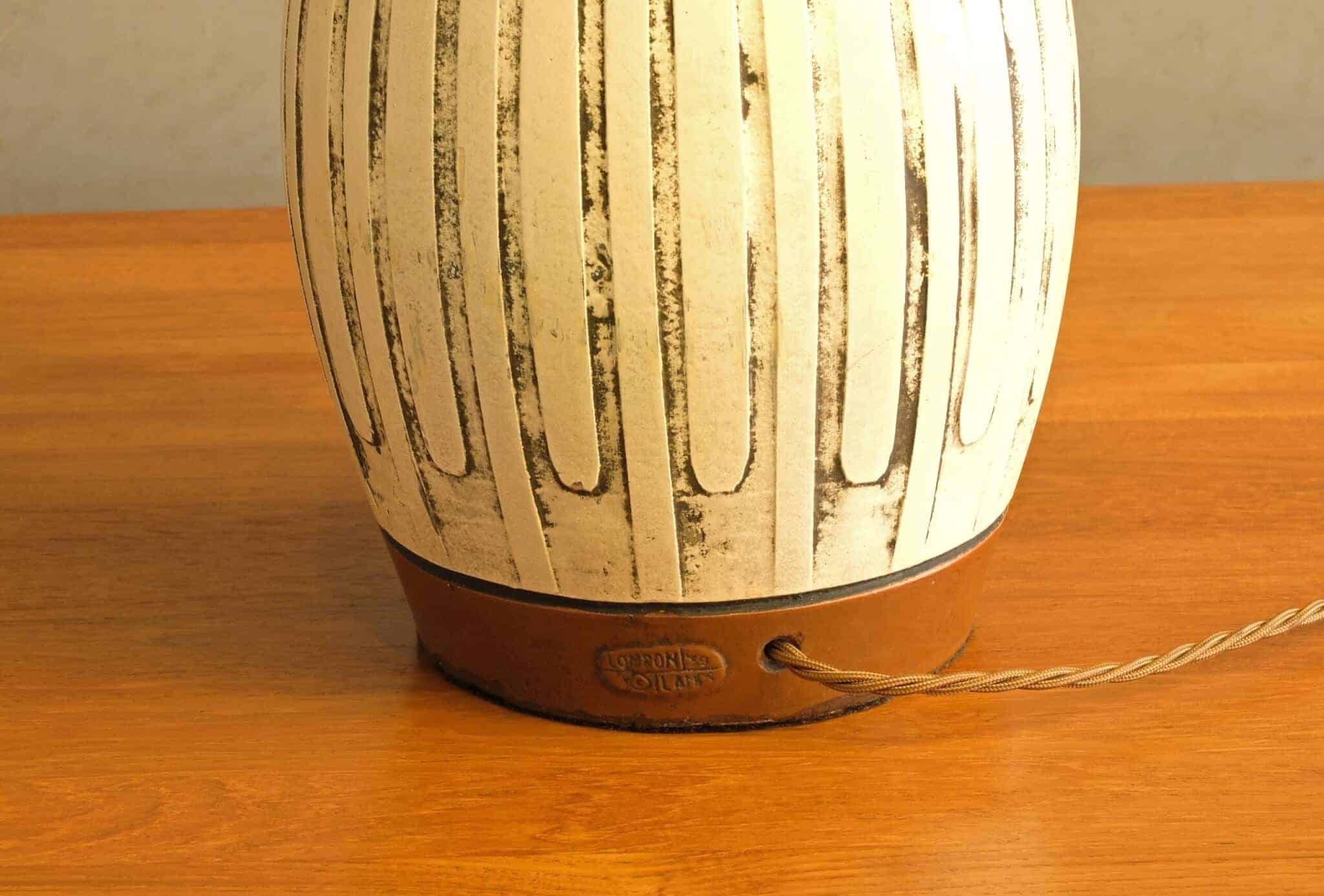 Pair of table lamps. London Lamp Co. 1959
