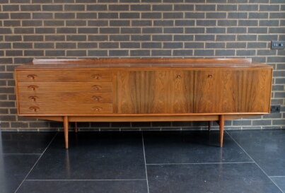 Robert Heritage Hamilton Rosewood Sideboard by Archie Shine