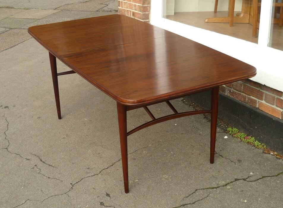 Robert Heritage Rosewood dining table by Archie Shine