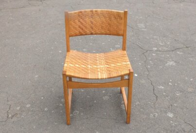 Single chair front view
